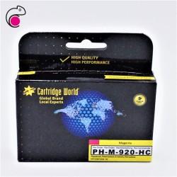 CW HP 920XL Magenta Cartouche d'encre Magenta Premium Remanufacturée