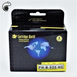CW HP 920XL Noir Cartouche d'encre Noir Premium Remanufacturée