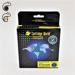 CW HP 301XL Pack de 2 cartouches d'encre  (1 Noire + 1 Couleur ) Premium Remanufacturées Cartridge World