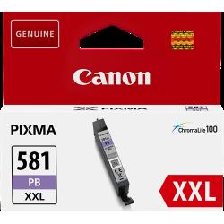 CLI-581XXL Cartouche d'encre Bleue Photo Originale Canon 1999C001