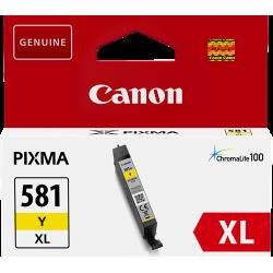 CLI-581XL Cartouche d'encre Jaune Originale Canon 2051C001