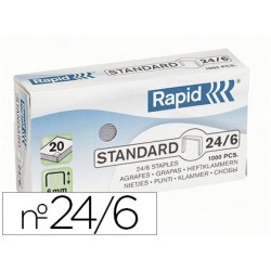 Agrafe Rapid 24/6 boîte...