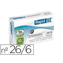 Agrafe Rapid 26/6 boîte...