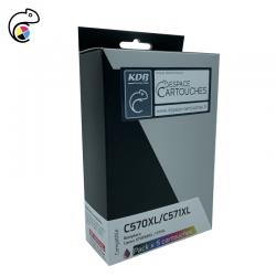 EC-C-570XL-571XL Pack de 5...