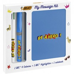 BIC My Message Kit Be a Hero