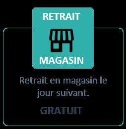 Retrait en Magasin Espace Cartouche J+1