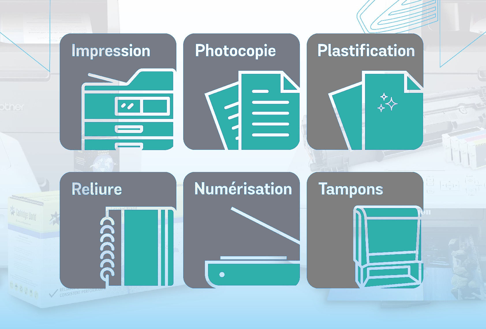 Photocopies Reliures Plastification Impressions Tampons  Troyes