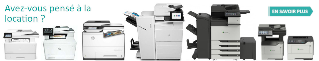 Gamme Location HP Lexmark